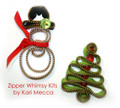 Snowman and Christmas Tree Zipper Kit from Kari Me Away
