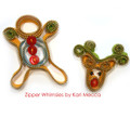 Zipper Reindeer & Gingerbread Kit