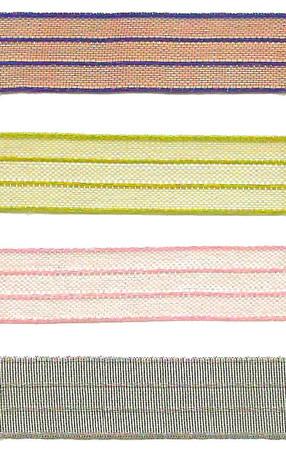 "3/8"" Sheer Iridescent Pinstripe Ribbon from Kari Me Away"