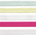 "3/8"" Wide Satin Spiral Ribbon from Kari Me Away"