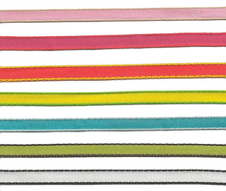 """1/8"""" Woven Ribbon with Contrasting Edge from Kari Me Away"""