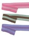 "3/8"" Two-Color Reversible Stripes Ribbon from Kari Me Away"