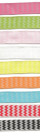 "5/8"" Woven Chevron Stripes Ribbon from Kari Me Away"