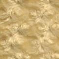 Cream colored Rosette Minky