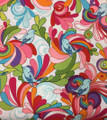 Bright Birds & Plumes Fabric