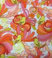 Sunny Birds & Plumes Fabric