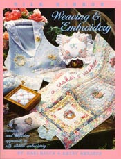 Silk Ribbon Weaving and Embroidery book-cover