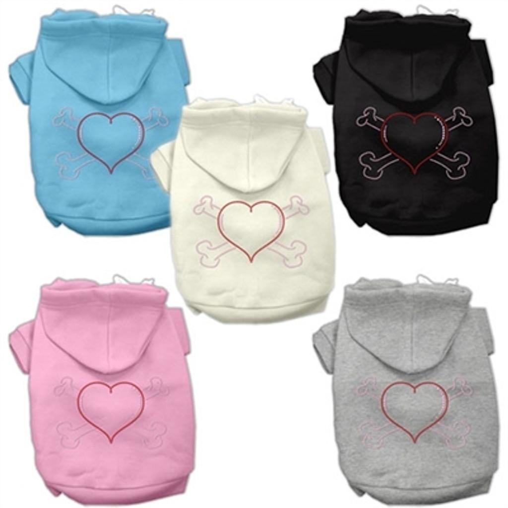 Heart & Crossbones hoodies