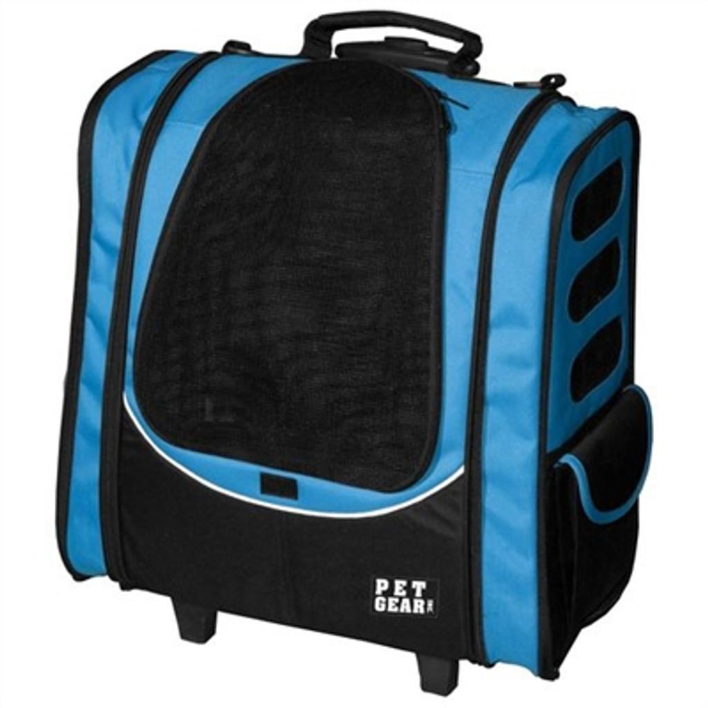 Ocean Blue Pet Gear I-GO2 Escort Dog Roller-Backpack
