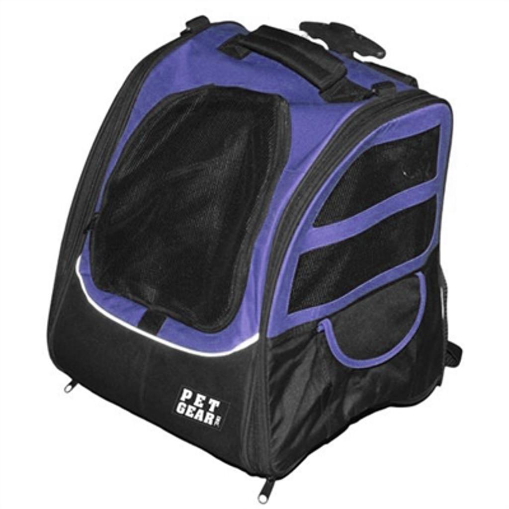 Pet Edge I-GO2 Traveler Dog Roller-Backpack - Lavender