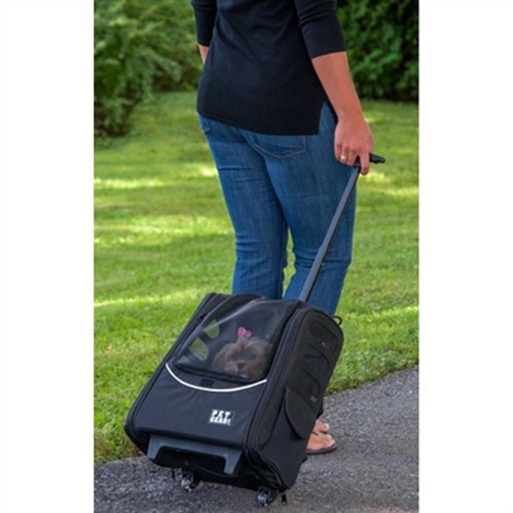 I-GO2 Traveler Dog Roller-Backpack - Pink