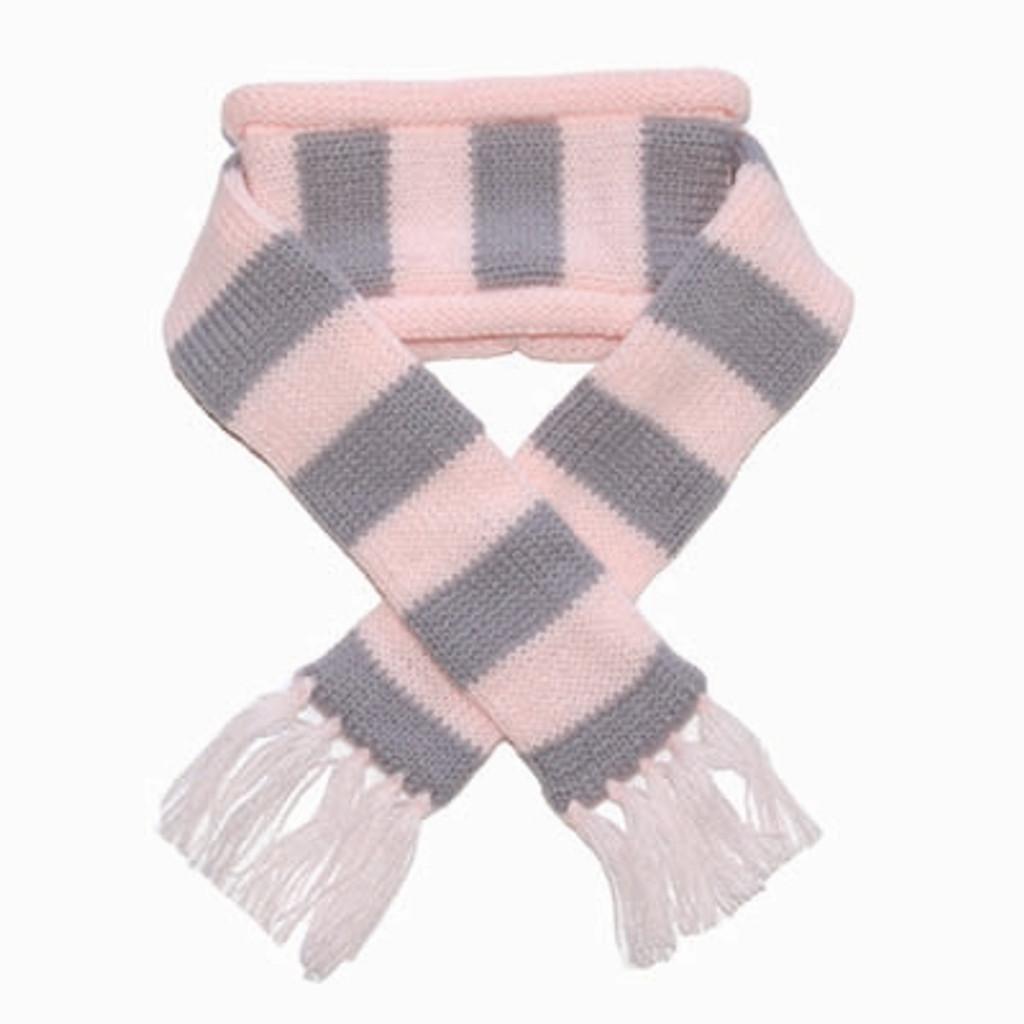 Urban Stripe Scarf Pink