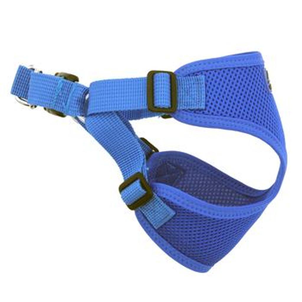 Wrap and Snap Choke Free Dog Harness - Cobalt Blue