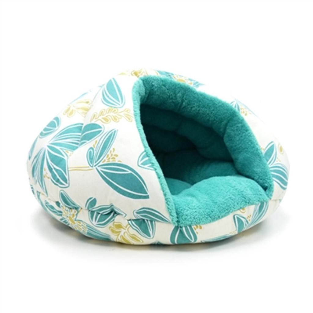 Burger Bed Blue Flower