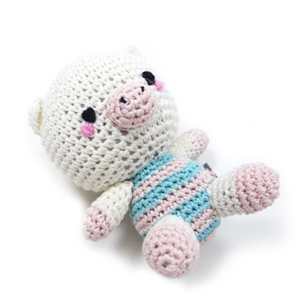 PAWer Squeaky Toy - Pig Doll