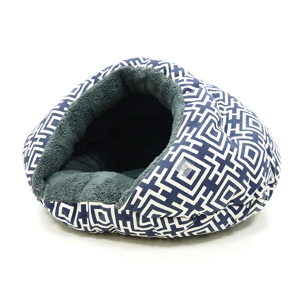 Burger Bed Modern Navy