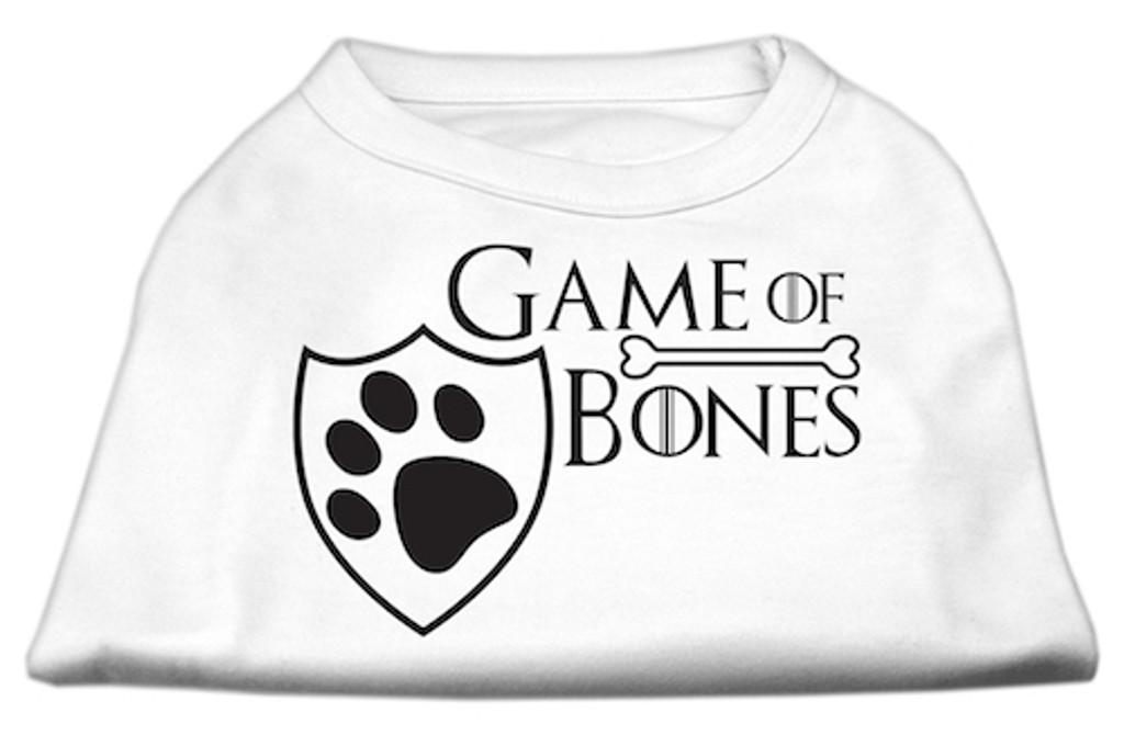 Game of Bones Screen Print Dog Shirt