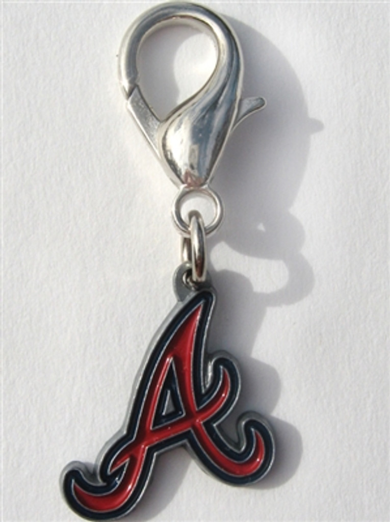 MLB™ Licensed Atlanta Braves Logo Collar Charm