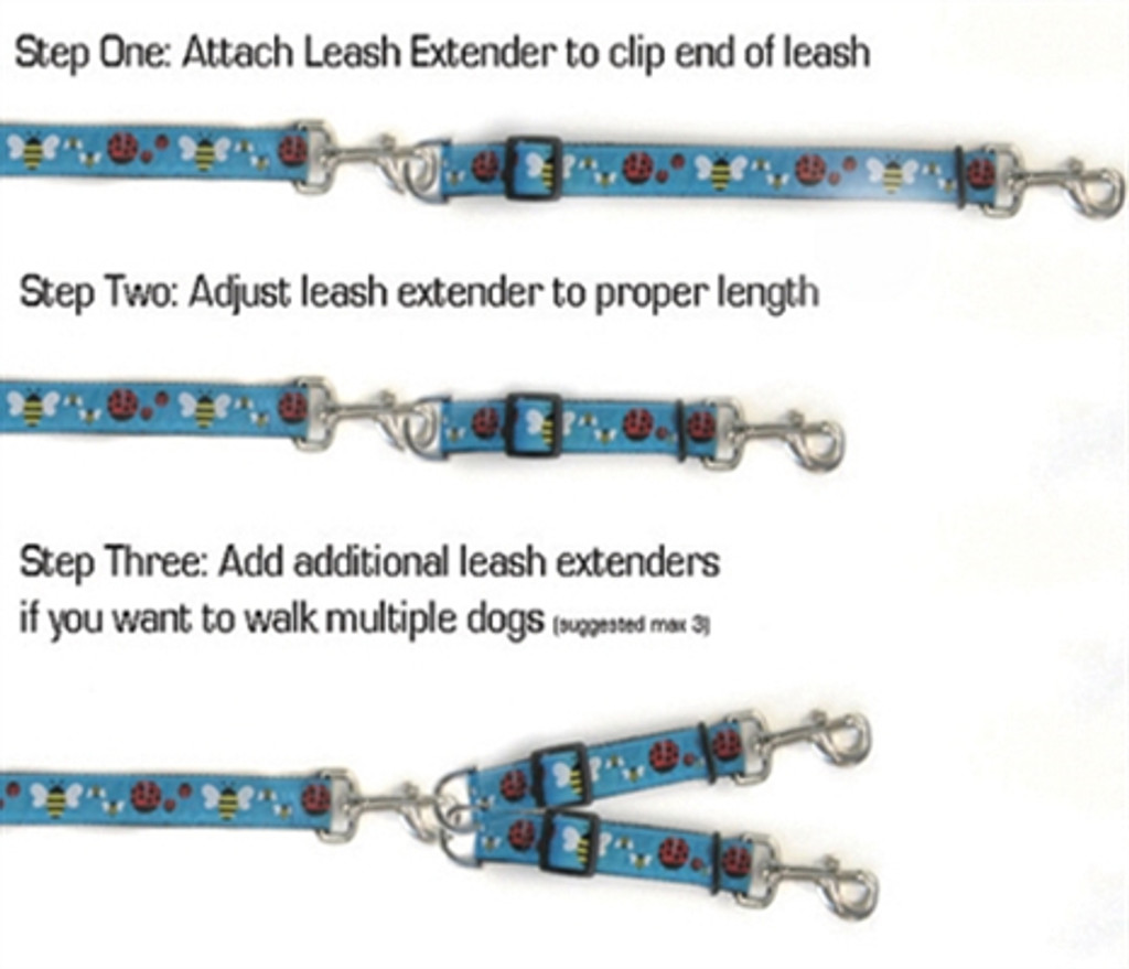 Perfect Poppy Leash Extenders