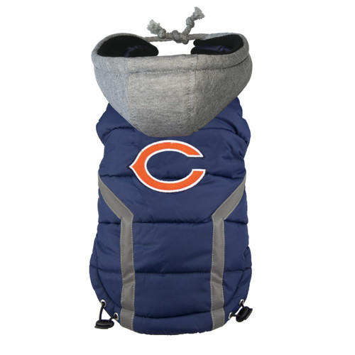 NFL Chicago Bears Dog Puffer Vest.