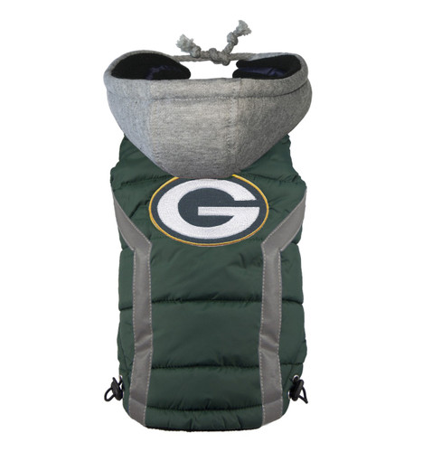 NFL Green Bay Packers Dog Puffer Vest