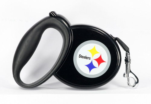 Steelers NFL Retractable Pet Leash
