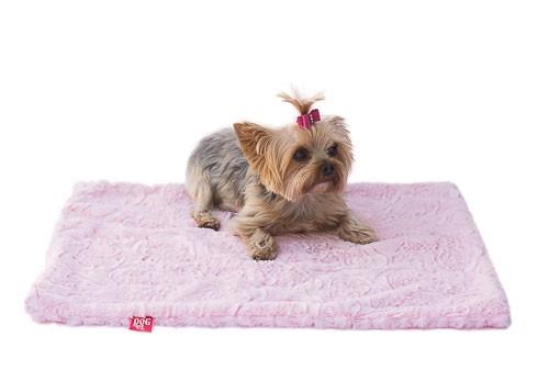 Pink Paisley Minkie Binkie Blanket