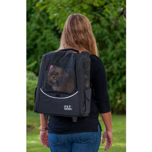 I-GO2 Traveler Dog Roller-Backpack - Sage
