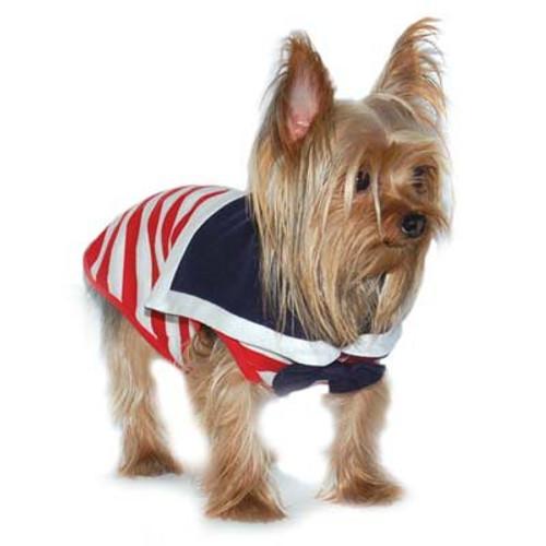 Dogo Dog Sailor Boy Red Tank - Free Shipping