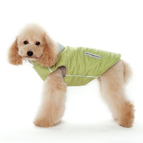 Green City Puffer Jacket
