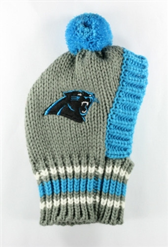 NFL Knit Pet Hat - Panthers