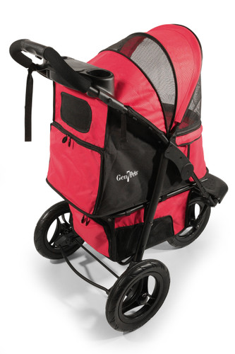 Red G7 Jogger™ Stroller for pets up to 75 lbs.