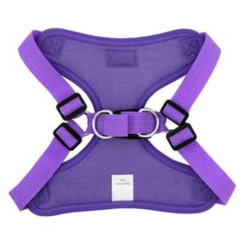 Wrap and Snap Choke Free Dog Harness - Paisley Purple
