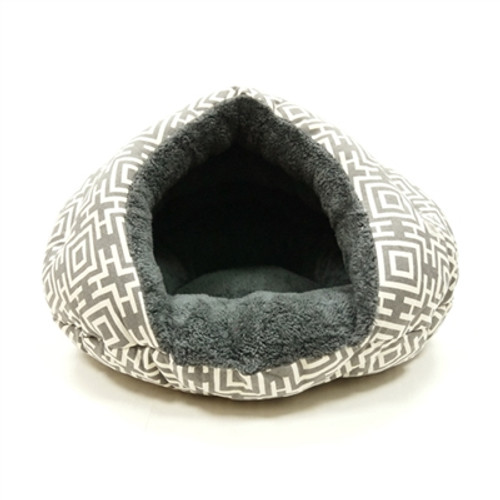 Burger Bed Modern Gray