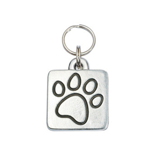 Paw Square Pet ID Tag