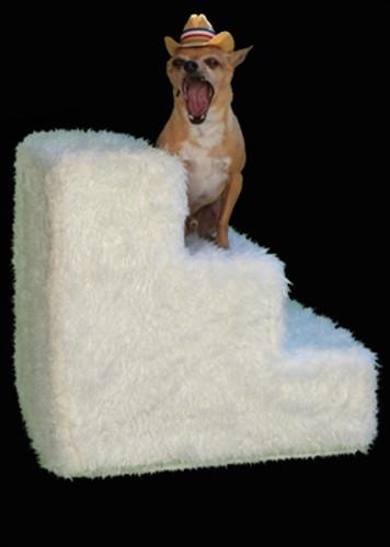 Pet Steps- Shaggy Ivory