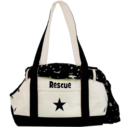 Canvas Boat Tote - RESCUE
