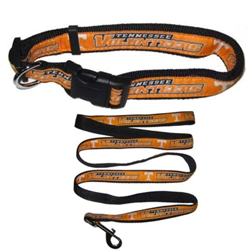 Tennessee Vols Dog Collars & Leashes