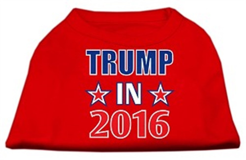 Trump in 2016 Election Screensprint Shirts