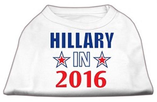 Hillary in 2016 Election Screenprint Shirts