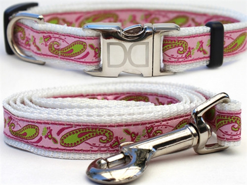 """Boho"" Pastel Paisley Collection - All Metal Buckles"