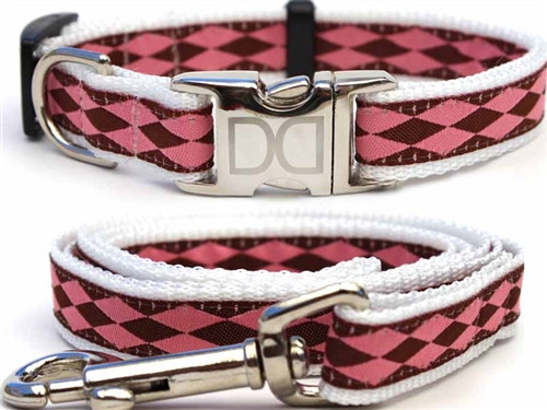 Harlequin Collection - Pink All Metal Buckles
