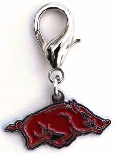 NCAA Licensed Team Charm - University of Arkansas Razorbacks