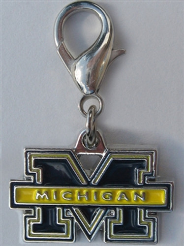 NCAA Licensed Team Charm - University of Michigan Wolverines