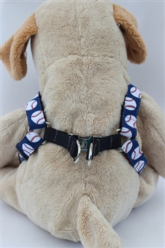 Baseball Collection - Step In Harnesses All Metal Buckles