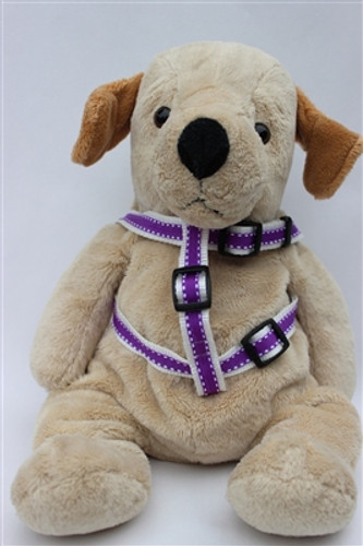 Preppy in Purple Collection - Step In Harnesses All Metal Buckles