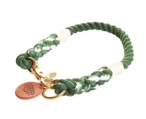 Grass Green Ombré Dog Collar