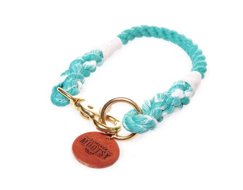 Teal Ombré Dog Collar