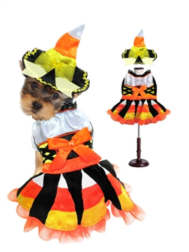 Halloween Candy Corn Witch