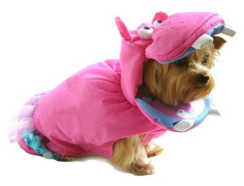 Pink Hippo Costume